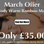 Warm Bamboo Massage Special Offer At Laroma Worthing