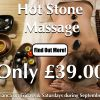 Hot Stone Massage Special Offer At Laroma Therapies Worthing