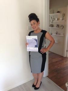 Lauren Certificate