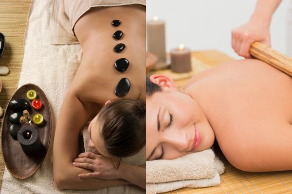 Hot Stone & Warm Bamboo Combo Massage In Worthing