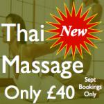 Thai Massage At Laroma