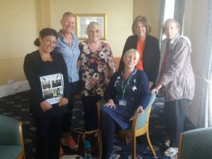 Laurens Talk With Cancer Patients