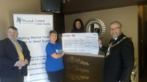 Mind Coastal West Sussex Fundraising At Laroma Therapies Worthing