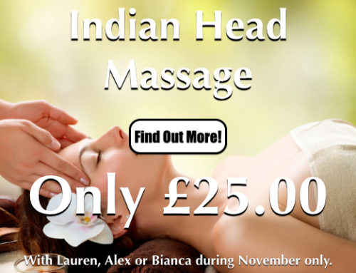 Indian Head Massage Special Offer At Laroma Therapies Worthing