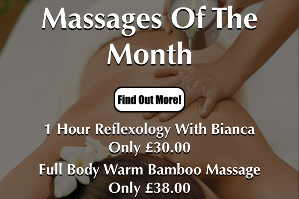 Massages Of The Month At Laroma Therapies Worthing Slide.001