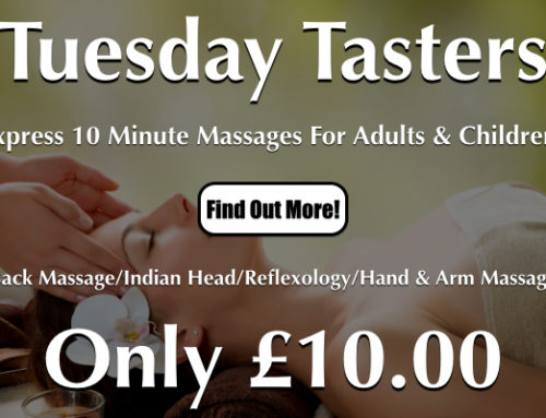 Tuesday Tasters Express Massages