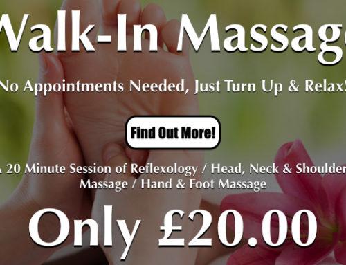 'Walk-In' Massage In Worthing