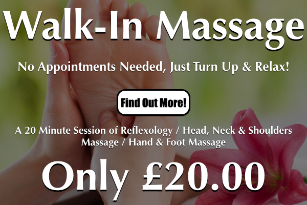 Walk-In Massage In Worthing At Laroma Therapies
