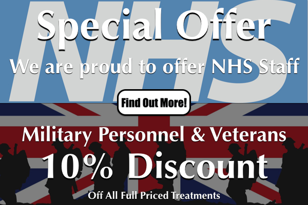 NHS & Military Personnel Special Offer At Laroma Therapies Worthing