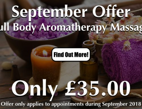Aromatherapy Massage Special Offer