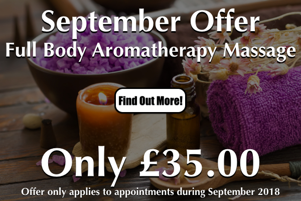 Aromatherapy Massage Special Offer At Laroma Therapies Worthing